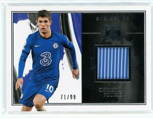 2020-21 Panini Impeccable Jersey Christian Pulisic #71/99 Chelsea FC