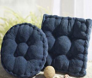 Soft Thickened Dining Garden Warm Cushion Chair Seat Pad Floor Cushion FM