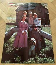 1979 Little House on the Prairie Swedish Poster Magazine 1970s - Vintage
