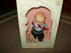 "Cameo's Jesco Kewpie Doll 8"" Western Style with box"