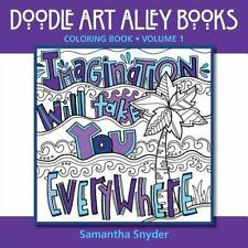 Imagination Will Take You Everywhere: Coloring Book (Doodle Art Alley Books) (Vo