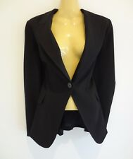 *BASQUE* TIMELESS CLASSIC TAILORED BLACK OFFICE JACKET sz10 AS NEW!