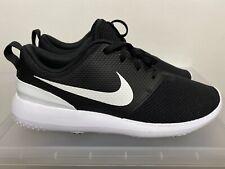 Nike Roshe G Spikeless Golf Shoes Aa1837-001 Black/White Sz 9