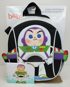 Disney Baby Buzz Lightyear Harness Backpack Mini Bag Safety Straps Insulated NEW