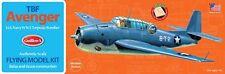 Model Airplane Kit, WW II Naval Aviation, Guillow's Grumman TBF Avenger  GUI-509