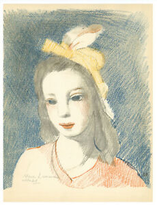 Marie Laurencin lithograph 1946