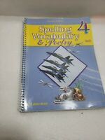A BEKA Book Spelling Vocabulary & Poetry 4 Second Edition Teacher Edition Helps