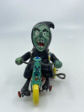 New listing Vintage Marx Nutty Mad Witch Goblin Rat Rod Trike Tricycle Tin Wind Up Toy Japan