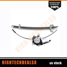 Power Window Regulator Driver Side Front with Motor for 2005-10 Nissan Frontier