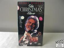 Kenny Rogers - The Christmas Show VHS with Boyz II Men, Trisha Yearwood