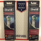 2 PACK = 6 PCS  Oral-B Floss Action Toothbrush heads - Free Shipping