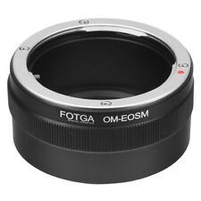 FOTGA lens Adapter for Olympus OM Mount to Canon EOS M M2 M3 EF-M Camera Body