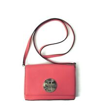 Kate Spade Pink Saffiano Leather Cross body Shoulder Bag  Clutch Newbury Sally