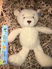 MY FIRST BEAR SOFT CREAM SEWN EYES TEDDY BEAR PLUSH NEW NWT Resemble WINNIE POOH