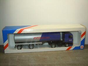 Daf 95 Truck & Trailer GPdWegvervoer - Lion Toys 1:50 in Box *51535