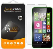 2X Supershieldz Tempered Glass Screen Protector Saver For Nokia Lumia 630 635