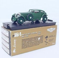 Brumm 1:43 BENTLEY SPEED SIX 1928 Sports Car Racing Green R-184 Model Car MIB`85