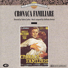 CRONACA FAMILIARE - CD - Directed by VALERIO ZURLINI /Music by GOFFREDO PETRASSI
