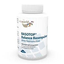 Basotop Alkalising mineral powder without sodium citrate 750g Vita World German