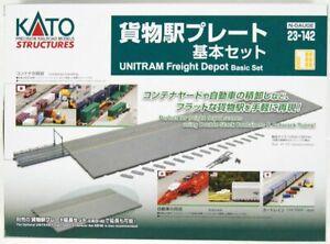 Kato 23-142 UNITRAM Freight Depot Basic Set (N scale)