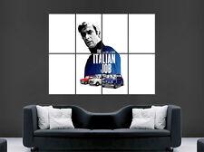 Italian job movie poster classique film mini voitures art mural photo imprimé large