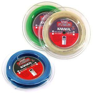Karakal Nano Fusion Squash String 100m Reel