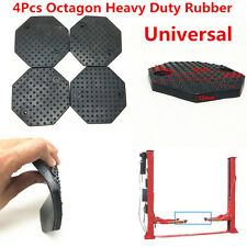 4pcs/set 135*10mm Black Rubber Arm Octagon Pad kit for Challenger Lift Lifts