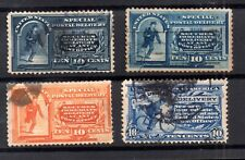 USA Special Delivery 10c unchecked collection WS16924