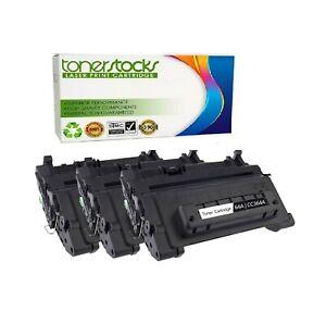 3pk Toner CC364A Black For HP LaserJet P4014dn P4014n P4015dn P4015n P4015tn