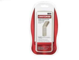 Craftsman 3050 1 Door Wireless Keyless Entry For All Major Brands