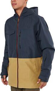 Dakine Mens Smyth Pure 2L Gore-Tex Shell Snowboard Jacket Large India Ink/Fennel