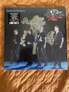 U2 The Heat And The Shelter 3-LP Korea 2019 num.Crystal blue/Mixed Black Vinyl