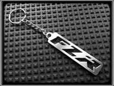 Keyring for YAMAHA FZR FZ R - Stainless Steel, Hand Made, Chain Loop Key Fob