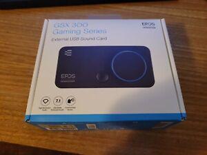EPOS Sennheiser GSX 300 Gaming Series External USB Sound Card [CIB]