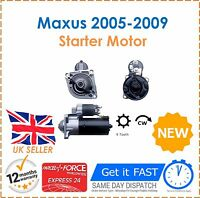 For LDV Maxus 2.5 D 2005-2009 All Models Good Quality Starter Motor New