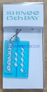 SHINee 13th Anniversary Special MD OFFICIAL GOODS ACRYLIC KEY RING + PHOTO CARD