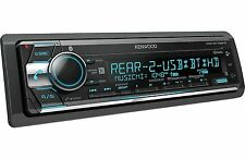 Kenwood KDC-BT768HD CD/MP3/WMA Player Bluetooth HD Radio Rear AUX USB Sirius XM