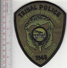 American Indian Tribe Police Alaska Native Village Kwinhagak River Ranger acu