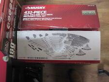 "NEW Husky 432 Piece 1/4 3/8 1/2"" Drive Mechanics Tool Set FREE SHIPPING! H432MTS"