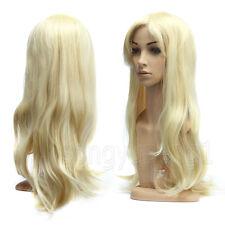 Cosplay Perücke Gelockt Kostüm Lang Haar Wigs Damenperücke Weiblich 70cm Blond