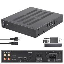 200W 2-Channel Bridgeable Stereo Audio Power Amplifier Amp D Class Rack Mount