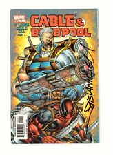Cable & Deadpool #1 signed by Nicieza VF