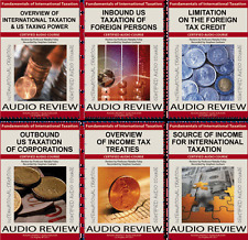 FUNDAMENTALS OF INTERNATIONAL TAXATION (Full Package) Audio Review