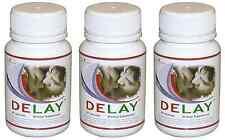 DELAY 3x Cure Premature Ejaculation Increase Stamina Enhance Sexual Pleasure