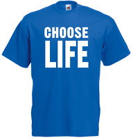 Choose Life Trainspotting inspired Mens Printed T-Shirt UK Fashion Casual Tee