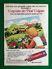 PX26 Pubblicità Advertising Werbung Clipping 23x16 cm - COLGATE DENTIFRICIO