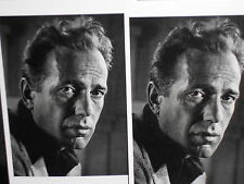 2  photo postcards Humphrey Bogart movie star 1944