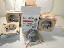 "LOT OF 12 NEW IN BOX ELCO LIGHTING ELM30B TRIM 6"""