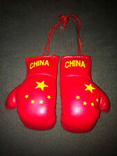 CHINA / CHINESE FLAG Mini Boxing Gloves *NEW*