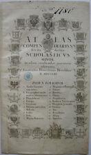 Astronomie Mathematische Geographie Kupferstichkarte Homann 1753 Geodäsie
